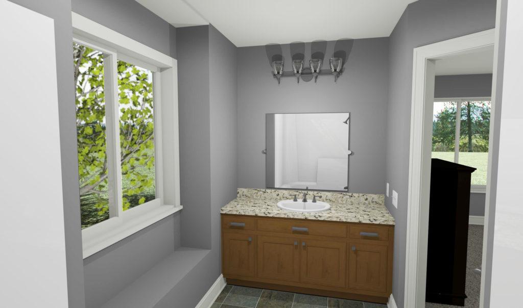Matthew bath interior